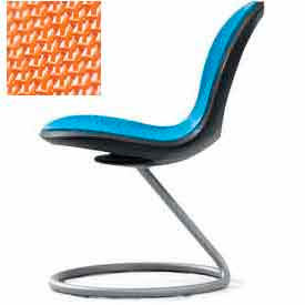 Net Circular Base Chair - Orange - Pkg Qty 2