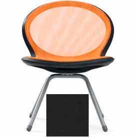 Net 4-Legged Chair - Black - Pkg Qty 2