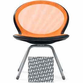 Net 4-Legged Chair - Gray - Pkg Qty 2