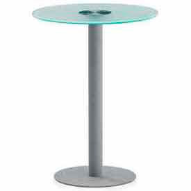 NET Series Large Tempered Glass Table