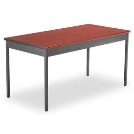 "OFM 30"" x 60"" Multi-Purpose Utility Table, Cherry"