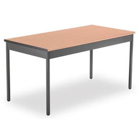 """OFM Core Collection 30"""" x 60"""" Multi-Purpose Utility Table, in Maple (UT3060-MPL)"""