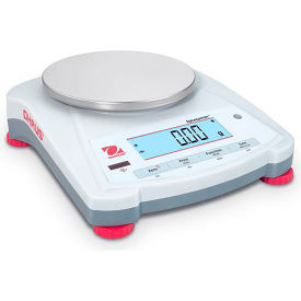 "Ohaus® NV422 Navigator® Portable Balance, 420g x 0.01g, 5.7"" Dia. Platform"