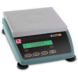 "Ohaus RD6RSW Washdown Compact Bench Digital Scale 13lb x 0.0005lb 9-1/2"" x 8"" Platform"