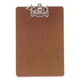 """Officemate® Recycled Archboard, Letter Size, 9"""" x 15-1/2"""", Brown"""