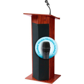 lecterns lecterns with sound options oklahoma sound power plus podium lectern with. Black Bedroom Furniture Sets. Home Design Ideas