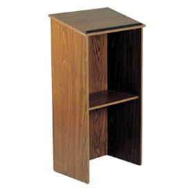 Full Floor Lectern - Medium Oak