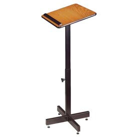 Portable Presentation Lectern - Medium Oak