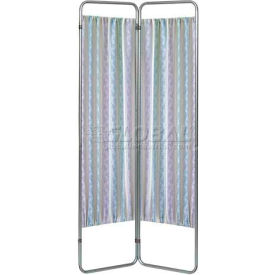 Omnimed® Privacy Economy Folding Screen Frame, 2 Sections