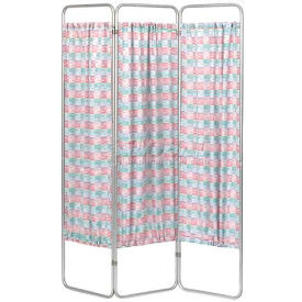 Omnimed® Privacy Economy Folding Screen Frame, 3 Sections