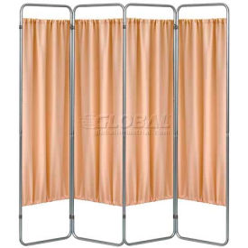 Privacy Economy Folding Screen Frame, 4 Sections