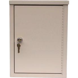 """Omnimed® Economy Double Door Narcotic Cabinet, Ambi-Top, 2 Adj. Shelves,11""""W x 4""""D x 15""""H,Beige"""