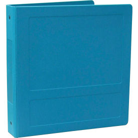"Omnimed 2"" Molded Ring Binder, 3-Ring, Side Open, Holds 375 Sheets, Aqua by"