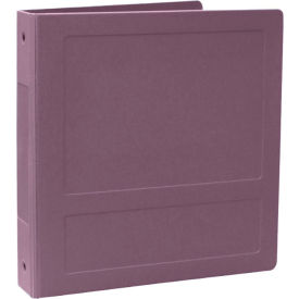 "Omnimed 2"" Molded Ring Binder, 3-Ring, Side Open, Holds 375 Sheets, Lilac by"