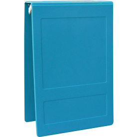 "Omnimed 2"" Molded Ring Binder, 3-Ring, Top Open, Holds 375 Sheets, Aqua by"