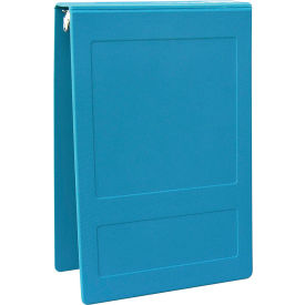 """Click here to buy Omnimed 1-1/2"""" Molded Ring Binder, 3-Ring, Top Open, Holds 300 Sheets, Aqua."""