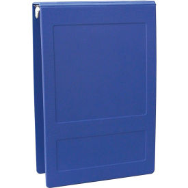 "Omnimed 1-1/2"" Molded Ring Binder, 3-Ring, Top Open, Holds 300 Sheets, Blue by"