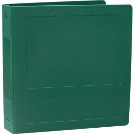 """Omnimed 2"""" Antimicrobial Binder, 3-Ring, Side Open, Holds 375 Sheets, Forest Green by"""