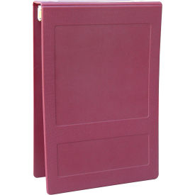 "Omnimed 2-1/2"" Molded Ring Binder, 3-Ring, Top Open, Holds 450 Sheets, Burgundy by"