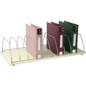 Omnimed® Table Top Storage Rack, 10 Binder Capacity, Beige