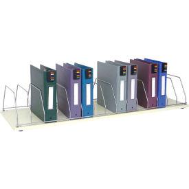 Omnimed® Table Top Storage Rack, 15 Binder Capacity, Beige