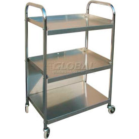 Omnimed® 264651 Stainless Steel Mobile Supply Cart