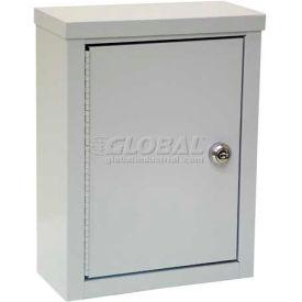 "Omnimed® Wall Storage Cabinet, Ambi-Top, 1 Adjustable Shelf, 9""W x 4""D x 12""H, Grey"