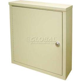 "Omnimed® Wall Storage Cabinet, Ambi-Top, 1 Adjustable Shelf, 16""W x 4""D x 16-3/4""H, Grey"