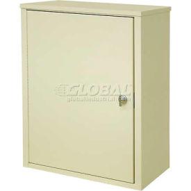 "Omnimed® Wall Storage Cabinet, Ambi-Top, 1 Adjustable Shelf, 16""W x 8""D x 16-3/4""H, Beige"