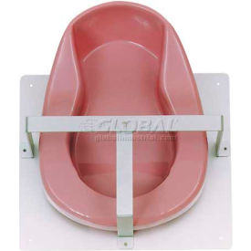 Omnimed® Single Bedpan Rack, Stainless Steel