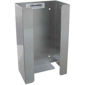 Omnimed® Single Glove Box Holder, Stainless Steel, 1/Pack