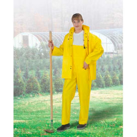 Onguard Tuftex Yellow Bib Overall W/Snap Fly, PVC, 3XL