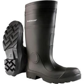 "Onguard Men's Boot, 16"" Buffalo Black Steel Toe W/Lug Outsole, PVC, Size 11"