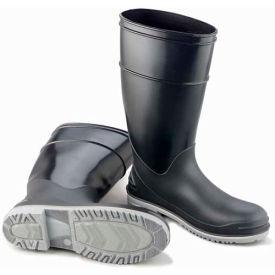 "Onguard Men's Boot, 16"" Goliath Black Steel Toe W/Power Lug Outsole,  PVC, Size 12"