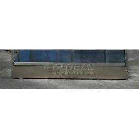 "Excalibur Metal Kickplate, MKP5X24, 24""W X 5""D, To Fit 24""W Shelving Unit, Galvanized"