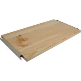 "Excalibur Additional B-System Shelf, WDSB12X36SL, 36""W X 12""D, Clear Finished Pine"