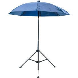 Heavy Duty Umbrella -  6-1/2 Ft. H - Blue - Vinyl