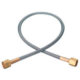 """Stainless Steel Flexible Pigtails - 3000 PSIG - Stainless Steel - 24"""""""