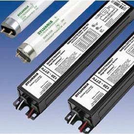 Sylvania 49863 QHE 2X32T8/UNV ISL-SC-2-lamp 32WT8 High Efficiency Electronic Ballast-UNV-Low... by