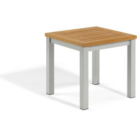 Oxford Garden® Travira Outdoor End Table - Tekwood Natural
