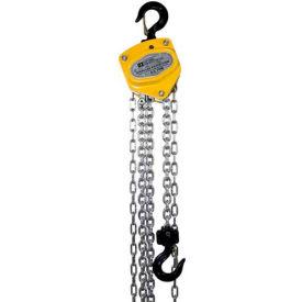 OZ Lifting Manual Chain Hoist w/ Std. Overload Protection 1/2 Ton Cap. 10' Lift