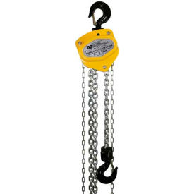 OZ Lifting Manual Chain Hoist With Std. Overload Protection 2 Ton Cap. 10' Lift