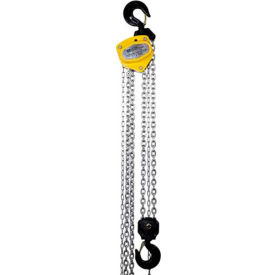 OZ Lifting Manual Chain Hoist With Std. Overload Protection 3 Ton Cap. 20' Lift