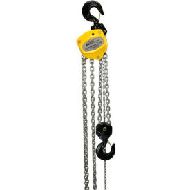 OZ Lifting Manual Chain Hoist With Std. Overload Protection 5 Ton Cap. 20' Lift