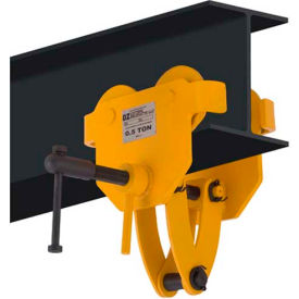 OZ Lifting OZ05BTC Beam Trolley with Clamp 1/2 Ton Capacity