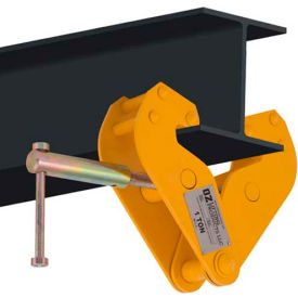 "OZ Lifting OZ1BC Beam Clamp 1 Ton Capacity, Fits Beam Flange Range 2.95""-9.05"""