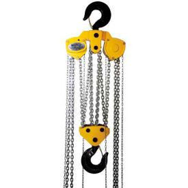 OZ Lifting Manual Chain Hoist With Std. Overload Protection 20 Ton Cap. 20' Lift