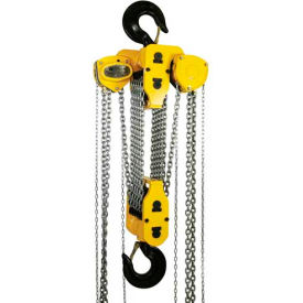 OZ Lifting Manual Chain Hoist With Std. Overload Protection 30 Ton Cap. 10' Lift