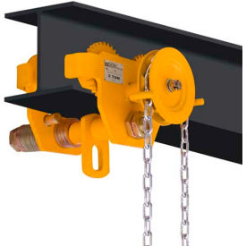 OZ Lifting OZ5GBT Geared Beam Trolley 5 Ton Capacity
