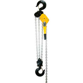 OZ Lifting Lever Hoist With Std. Overload Protection 9 Ton Capacity 10' Lift
